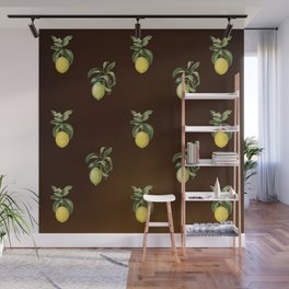 Lemons and Limes Wall Mural