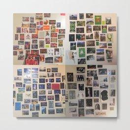 Postcard Wall Spaced Metal Print