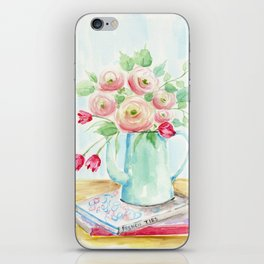 Tulips and French Enamelware iPhone Skin