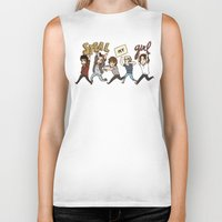 kendrawcandraw Biker Tanks featuring Everybody Wanna by kendrawcandraw