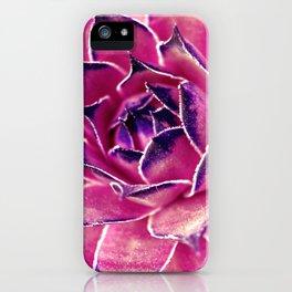 Suculenta Violeta iPhone Case