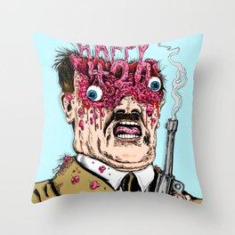 Happy 420 Throw Pillow