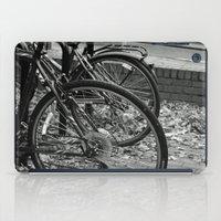 bikes iPad Cases featuring Bikes  by Renatta Maniski-Luke