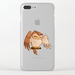 Mister Owley Clear iPhone Case