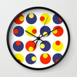 Electric Olives Wall Clock