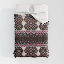 Oriental Heritage Colored Black Berber Moroccan Style Duvet Cover