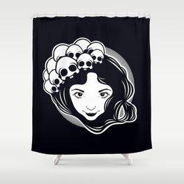 Girl Shower Curtain