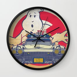 Who ya gonna call? Ghostbusters Movie Poster Wall Clock