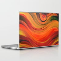fabric Laptop & iPad Skins featuring fabric by Cool-Sketch-Len