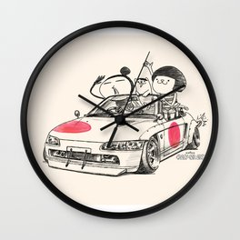 Crazy Car Art 0179 Wall Clock