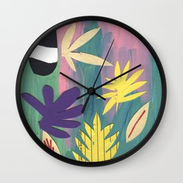 Leaf Fall Wall Clock