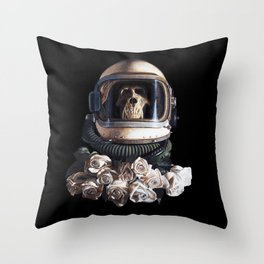 """Starship Trooper Redux"" Throw Pillow"
