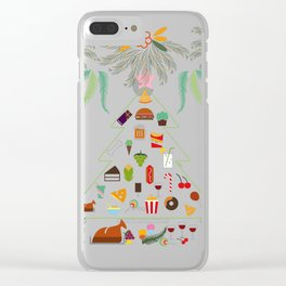 Christmas Clear iPhone Case