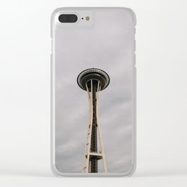 The Space Needle Clear iPhone Case