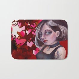 The Goth, Hearts Bath Mat