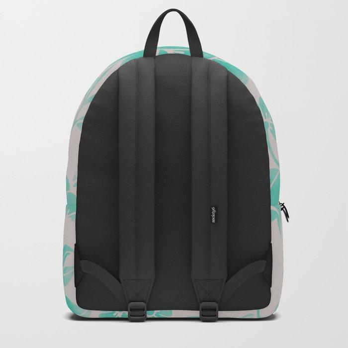 Wild Flower Cyan Backpack