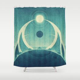 Earth - The Oceans Shower Curtain