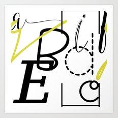Fun Typography Art Print