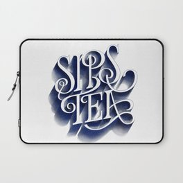 Sips Tea Laptop Sleeve