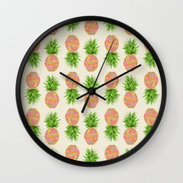 Pineapple or Pot Wall Clock