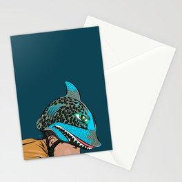 The Shark Helmet Stationery Cards