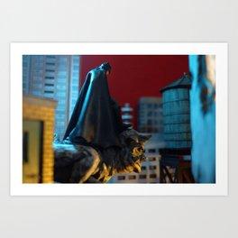 Protector Of Gotham Art Print