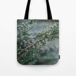 Frosted Heather Tote Bag
