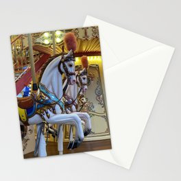 Vintage Carousel Horse Stationery Cards