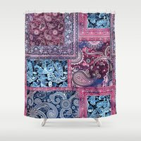 ethnic Shower Curtains featuring Ethnic by RIZA PEKER