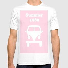 Summer 1969 -  pink T-shirt