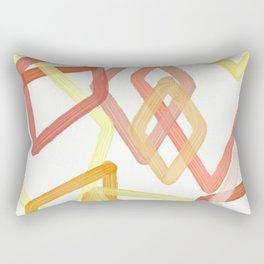 DIAMONDS ARE A GIRLS BEST FRIEND Rectangular Pillow