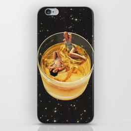 Whisky besties - On the rocks iPhone Skin