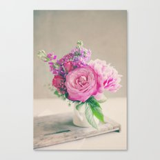 Midday Bouquet Canvas Print