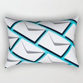 Envelopes pattern Rectangular Pillow