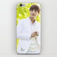 exo iPhone & iPod Skins featuring EXO Kai by TheRmickey