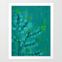 branches_bloom Art Print