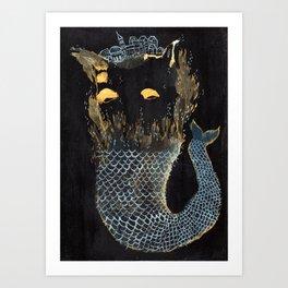 Fish City I Art Print