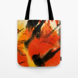 Art Abstraction 3 by Kathy Morton Stanion Tote Bag