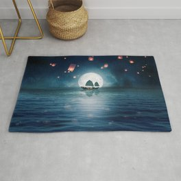 Travel through the Lights Rug