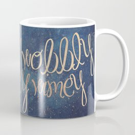 Wibbly wobbly (Doctor Who quote) Coffee Mug