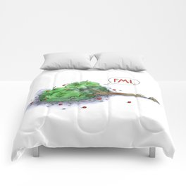 Trees Done With Life 1 Comforters