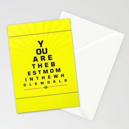 World's Best Mom Stationery Cards