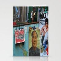hong kong Stationery Cards featuring hong kong by Teresa Gabry