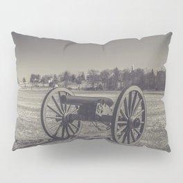 Artillery Placement Gettysburg National Military Park Pennsylvania Civil War Battlefield  Pillow Sham