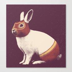 Lapin Catcheur (Rabbit Wrestler) Canvas Print