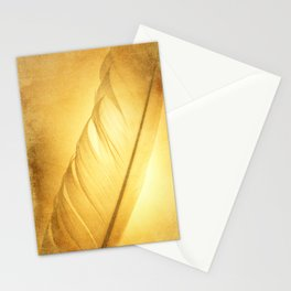Textured Feather Stationery Cards
