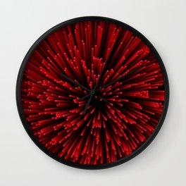 Red Incense Sticks  Wall Clock