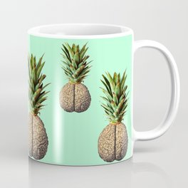 Pinebrain (pineapple) Coffee Mug