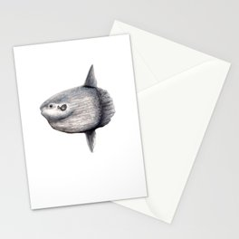 Ocean Sunfish (Mola mola) Stationery Cards
