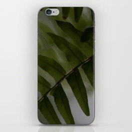 Upside down leaves iPhone Skin